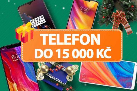 tipy na telefony do 15 000 Kč vánoce 2018