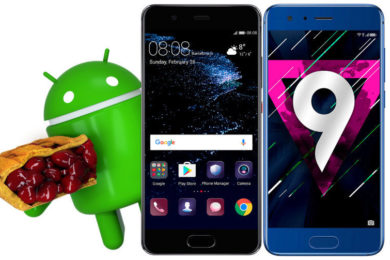 android 9 pie aktualizace honor 9 huawei p10 honor 8x