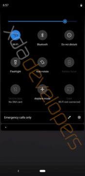 android q notifikacni lista