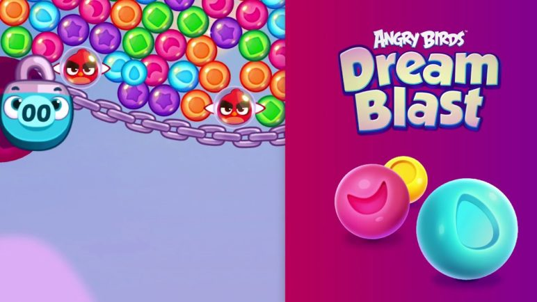 Angry Birds Dream Blast - Blast bubbles