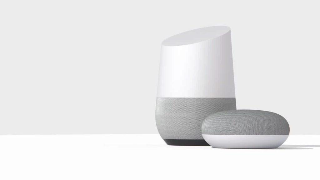 Asistent Google je součástí chytrých reproduktorů Home