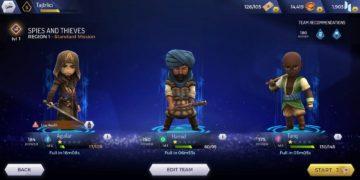 Assassins Creed Rebellion - výběr postav