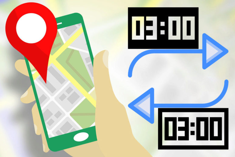cas prijezdu odjezdu google mapy navigace