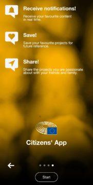 Citizens' App aplikace