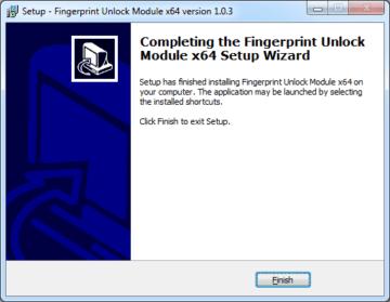 Dokončení instalace desktopové aplikace