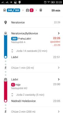 dopravni info google mapy