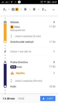 dopravni info pid ropid