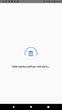 Equa bank Google pay overovani karty