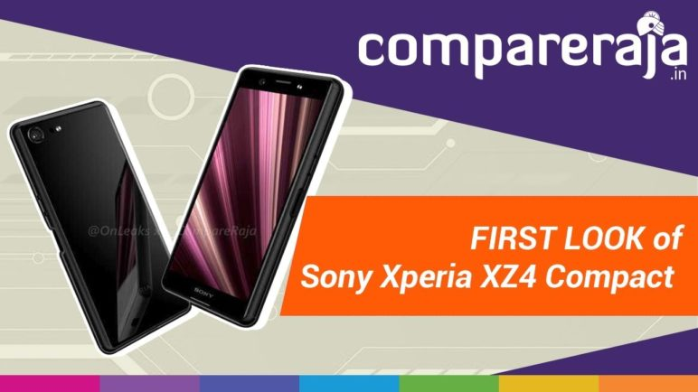 [Exclusive] Sony Xperia XZ4 Compact: First Look via Leaked Renders