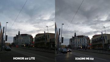 fototest Xiaomi Mi A2 vs Honor 10 Lite ulice denni svetlo