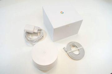Google Wifi obsah baleni