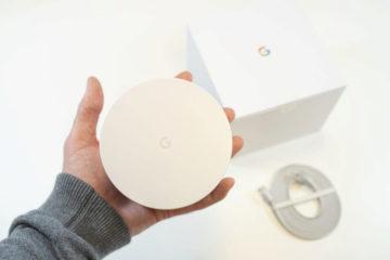 Google Wifi predni strana