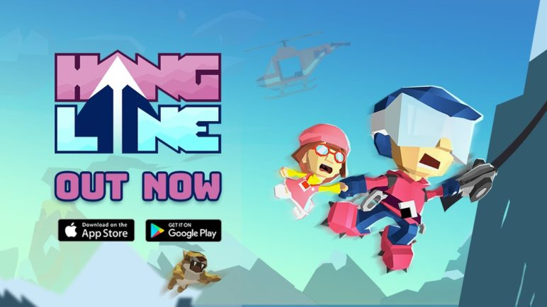 Hang Line: Mountain Climber – Now Available on iOS and Android!