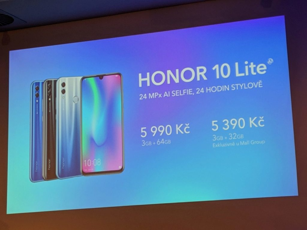 honor 10 lite cena v ceske republice