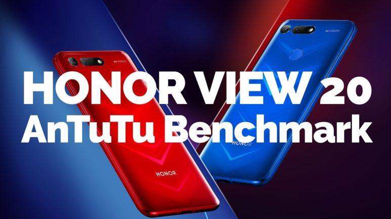 Honor View 20 - AnTuTu benchmark - SvetAndroida.cz