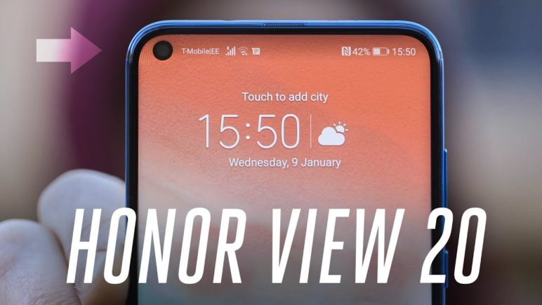 Honor View 20 hands-on: the future of bezel-less phones