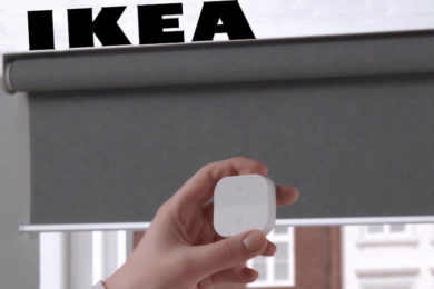 ikea chytre rolety asistent google