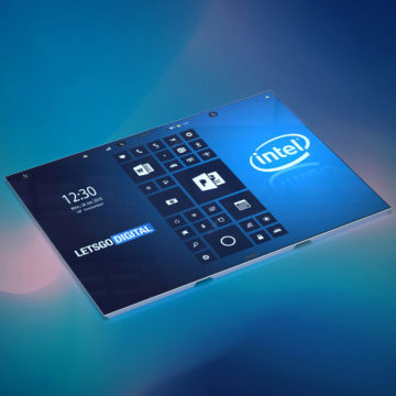 intel ohebny tablet design