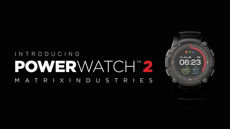 Matrix PowerWatch 2 - The Most Powerful Watch in the World