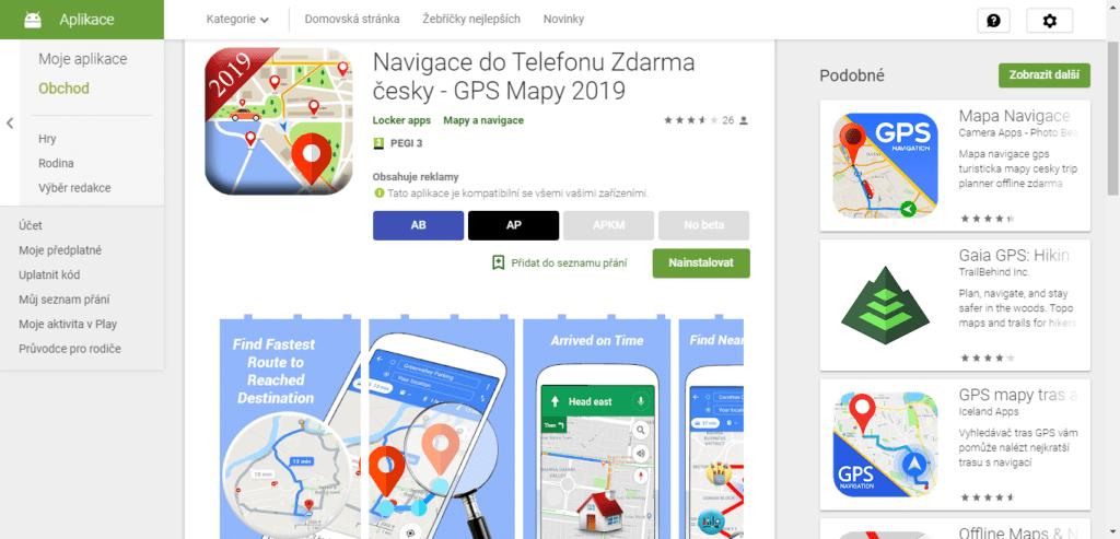 Nová navigace? Ne, jen Mapy Google obalené reklamou!