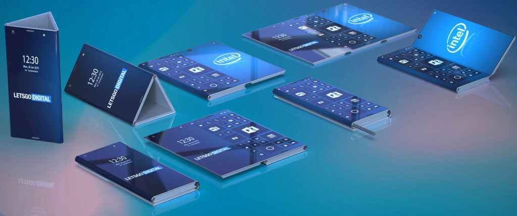 ohebny telefon intel patent