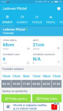 OnTheSnow aplikace android