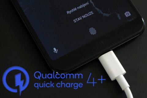 qualcomm quick charge 4+ seznam telefonu