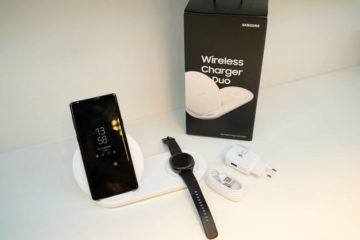 Samsung Wireless Charger Duo zarizeni