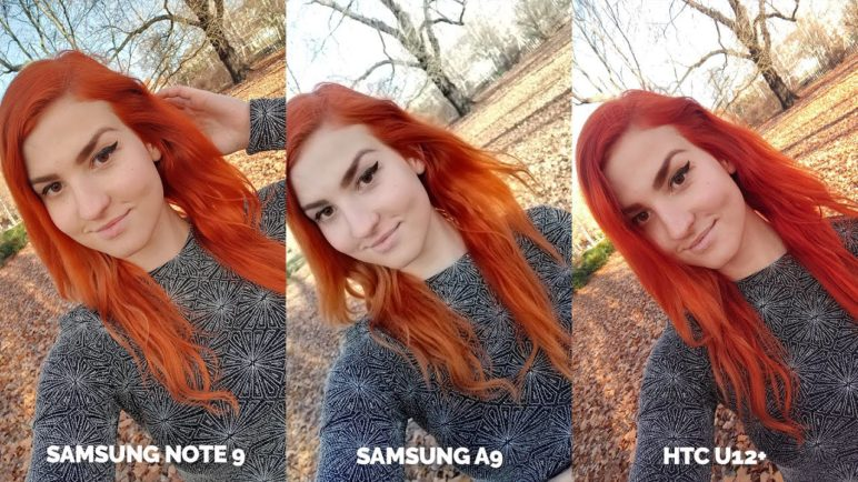 Smartphone Camera test - Samsung Galaxy Note 9 vs Samsung Galaxy A9 vs HTC U12+