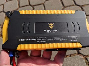 Viking Car Jump Starter Zulu kapacita 20800 mAh