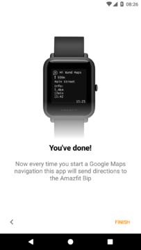 xiaomi amazfit bip nastaveni aplikace mi band maps