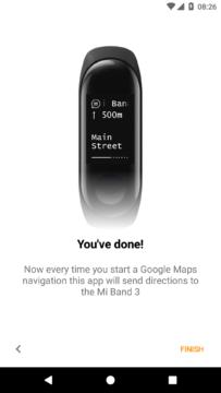 xiaomi mi band 3 nastaveni aplikace mi band maps