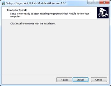 Zahájení instalace desktopové aplikace