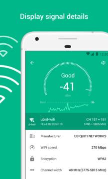 Zobrazí detaily o domácí Wi-Fi