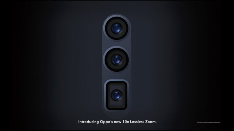 10x Lossless Zoom - OPPO Innovation Event 2019