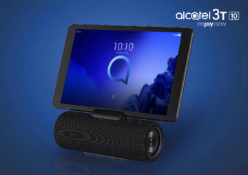 alcatel 3t 10 audio station
