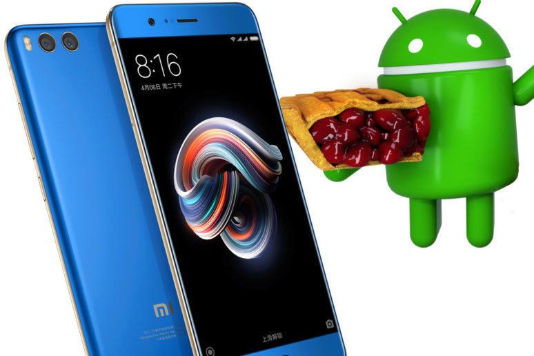 android 9 pie aktualizace xiaomi mobily