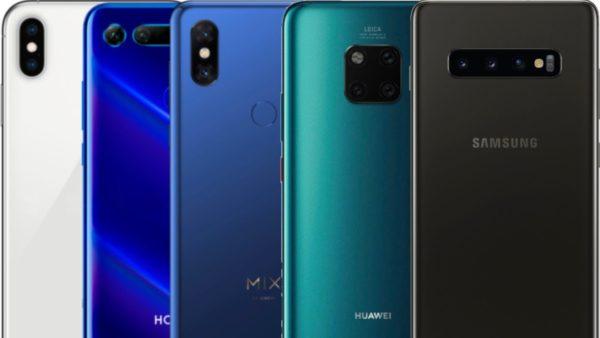AnTuTu Benchmark Samsung Galaxy S10+ vs iPhone XS vs Xiaomi Mi Mix 3 vs Honor View 20 vs Mate 20 Pro