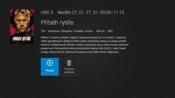 aplikace sledovani tv informace o filmu