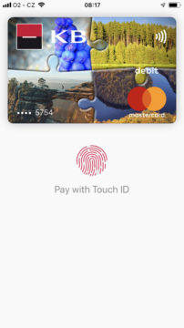 Apple Pay placeni iphonem