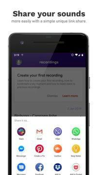 Aroundsound Audio Recorder android