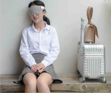 chytra maska xiaomi spanek v sede