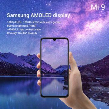 design a displej xiaomi mi 9