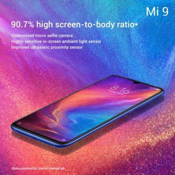 displej xiaomi mi 9