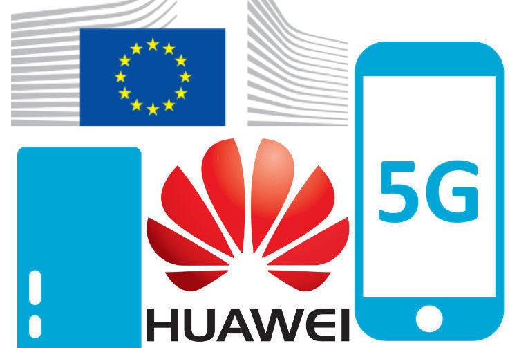 evropska komise huawei 5g site
