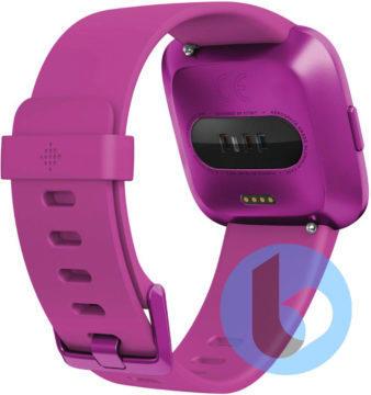 Fitbit-Versa-2-Purple-senzor srdečniho tepu