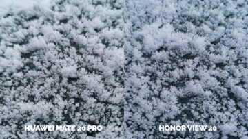 Fototest Honor View 20 vs Huawei Mate 20 Pro makro
