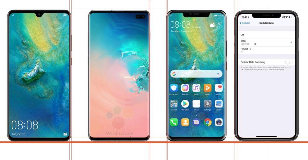 galaxy_s10_compare_iPhone_XS_Max_Huawei_Mate_20_Pro