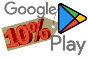 google play nove funkce upozorneni slevy nove kategorie