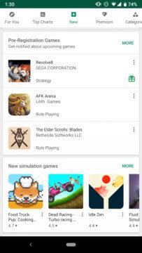 Google Play obchod nove funkce